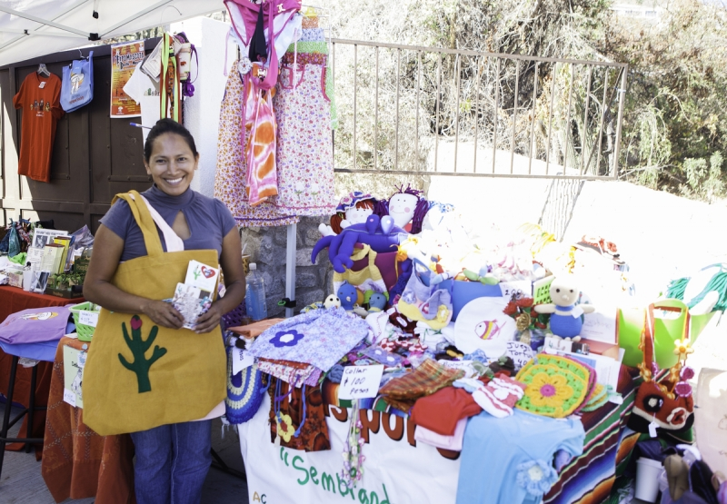 Hand crafted Mexican souvenirs