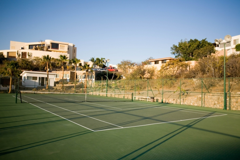 Professional grade Tennis Courts